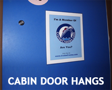 Free Cruise Cabin Door Decoration