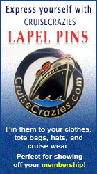 CruiseCrazies Cruise Lapel Pins