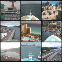 Cruise Ship Web Cams
