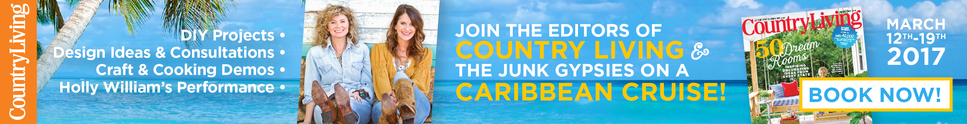 Join the Country Living Cruise!
