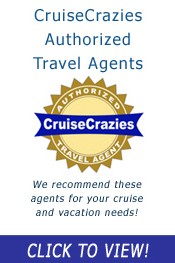 Book your next cruise with an Authorized CruiseCrazies Travel Agent!