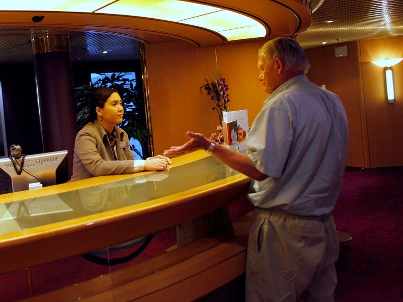 cruise ship passenger