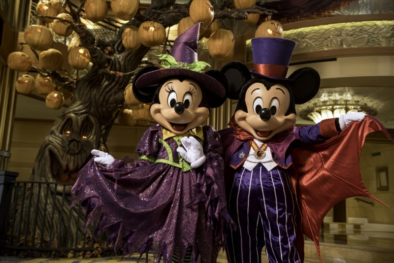 Halloween on the High Seas with Disney Cruise Line