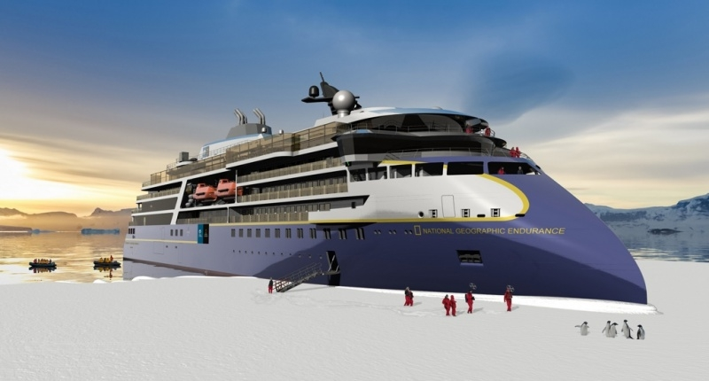 New Lindblad Expeditions Ship Rendering