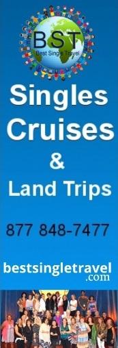 Singles Cruises & Land Trips