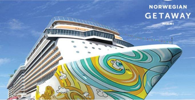 NCL's newest ship, Norwegian Getaway, will become 'Bud Light