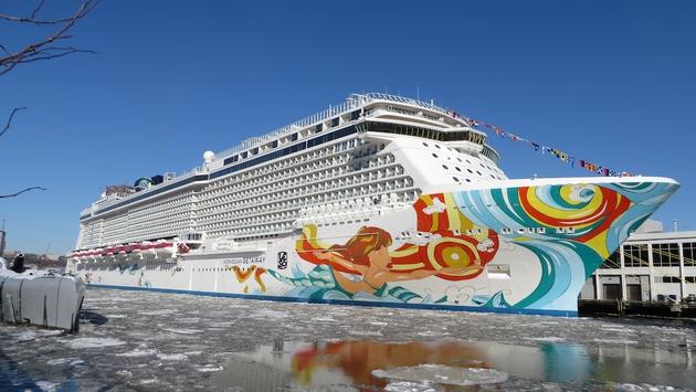 Norwegian Getaway Makes Debut In Nyc Norwegian Cruise