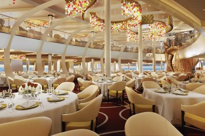 The 7 Most Beautiful Cruise Ship Main Dining Rooms - In the ...