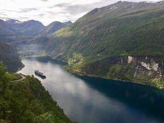Koningsdam - Geraingerfjord, Norway