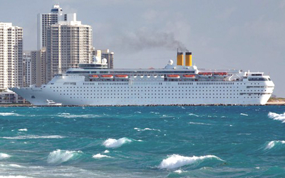 Riviera Beach Palm County Leaders On Friday Heralded The Arrival Of Bahamas Paradise Cruise Line S Newest Ship At Port