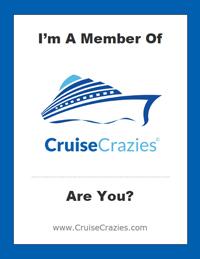 CruiseCrazies Cruise Cabin Door Hang - Option 1