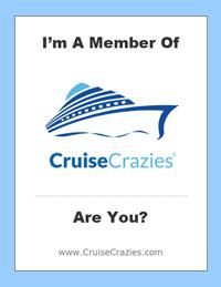 CruiseCrazies Cruise Cabin Door Hang - Option 2
