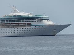 Royal Caribbean's Vision of the Seas, Anchored