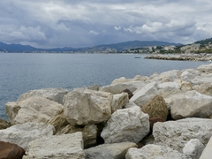 View from Port of Cannes