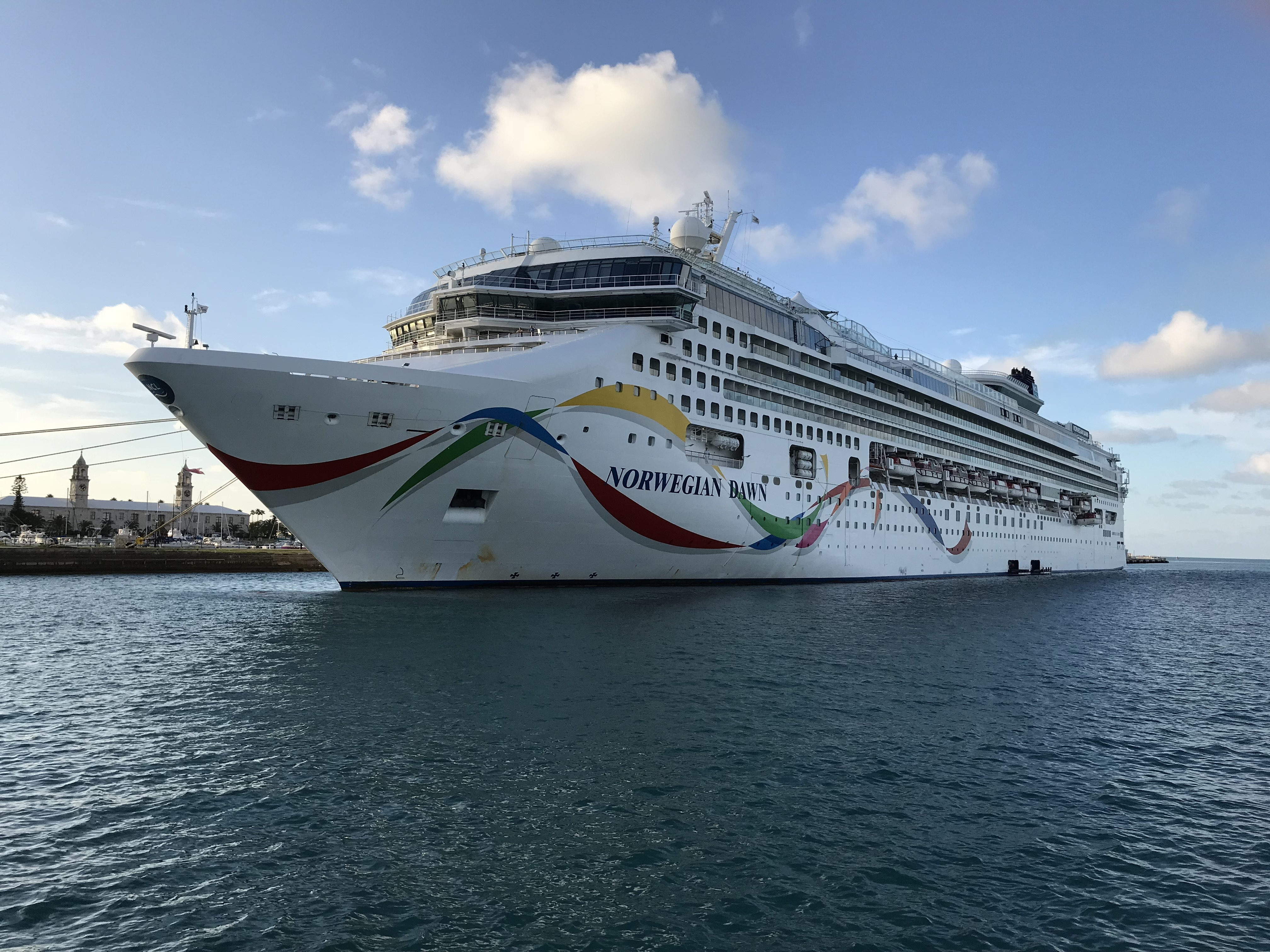 New Cruise Review Ncl Dawn Boston To Bermuda Let S