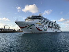 Norwegian Dawn, Boston to Bermuda - August 2018