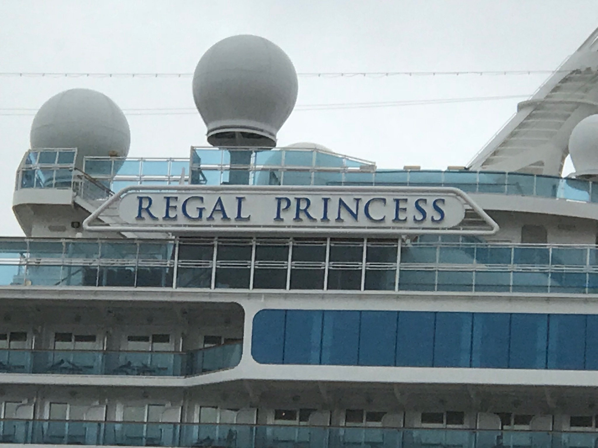 Cruising Regal Princess to Canada:  The Journey Begins