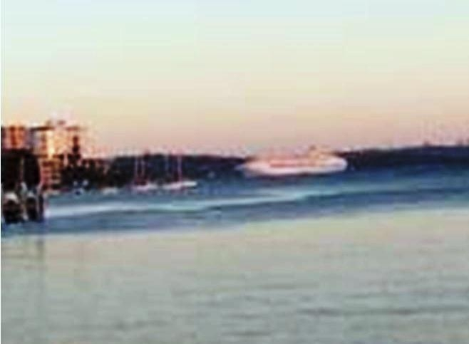 Mystery Cruise Ship Departs Sydney