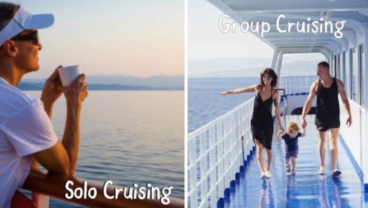 Solo Cruising verses Group Cruising